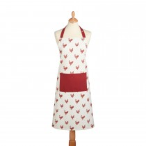 Hen Apron, Red