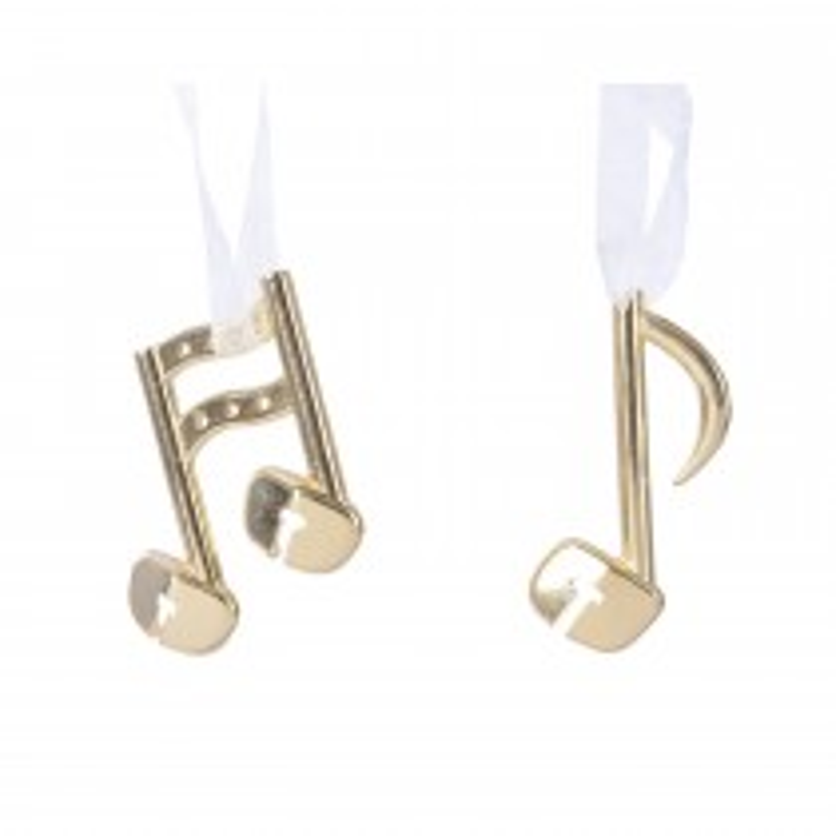 Alloy Music Note Hanger, Gold