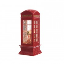 LED Telphone Booth, Red