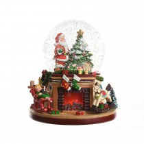 LED Snow Globe, Colour Changing