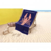 Ted Baker Lobster Blue Beach Towel