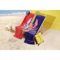 Ted Baker Lobster Red Beach Towel