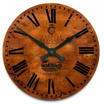 Brookpace Lascelles Large French Wall Clock -, Wood