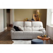 G Plan Mistral 3 Seater Left Manual Recliner Fabric Sofa