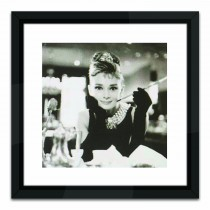 Brookpace Lascelles Breakfast At Tiffanys, Black/white