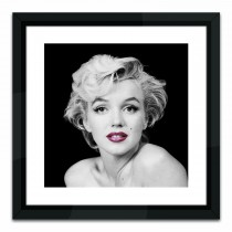 Brookpace Lascelles Marilyn Monroe, Red Lips, Black/white