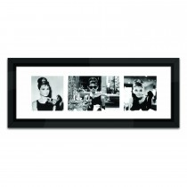Brookpace Lascelles Breakfast At Tiffany's Triple, Black/white