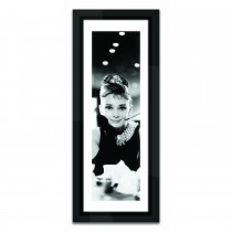 Brookpace Lascelles Audrey Hepburn, Port, Black/white
