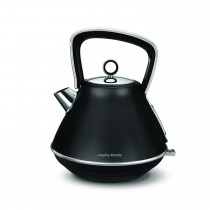 Morphy Richards Evoke Pyramid Kettle, Black