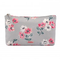 Cath Kidston Zip Cosmetic Bag, Small Anemone Bouquet Print