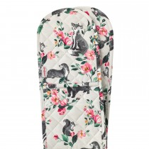 Cath Kidston Double Oven Glove, Badgers And Friends Print