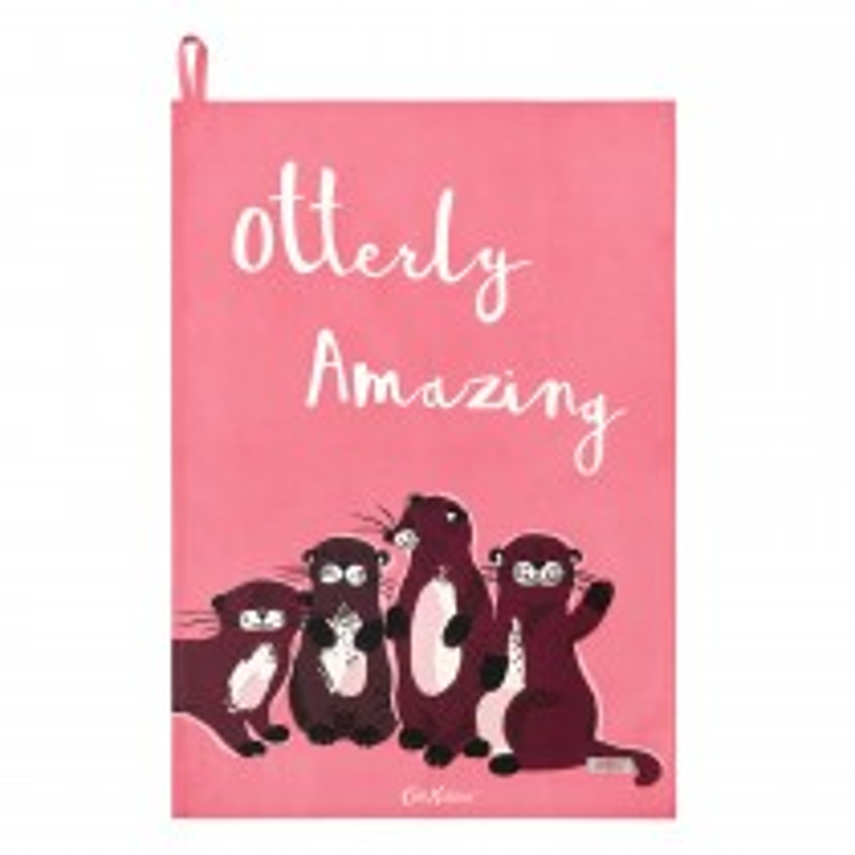 Cath Kidston Tea Towel, Otter Print