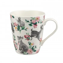 Cath Kidston Stanley Mug, Badgers And Friends Print