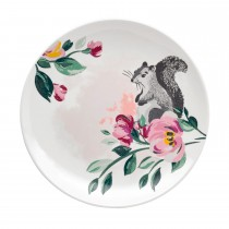 Cath Kidston Side Plate, Badgers And Friends Print