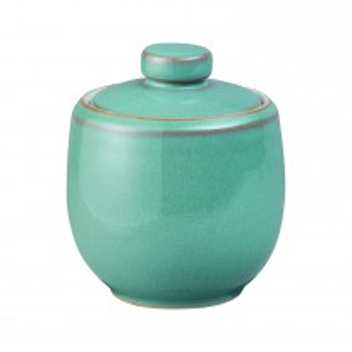 Denby Azure Sugar Bowl, Aqua Marine
