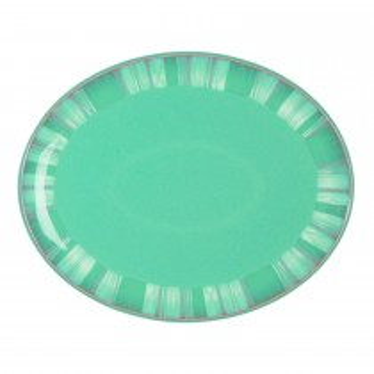 Denby Azure Coast Oval Platter, Aqua Marine