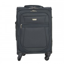 "Aerolite Canterbury Suitcase 21"", Grey"