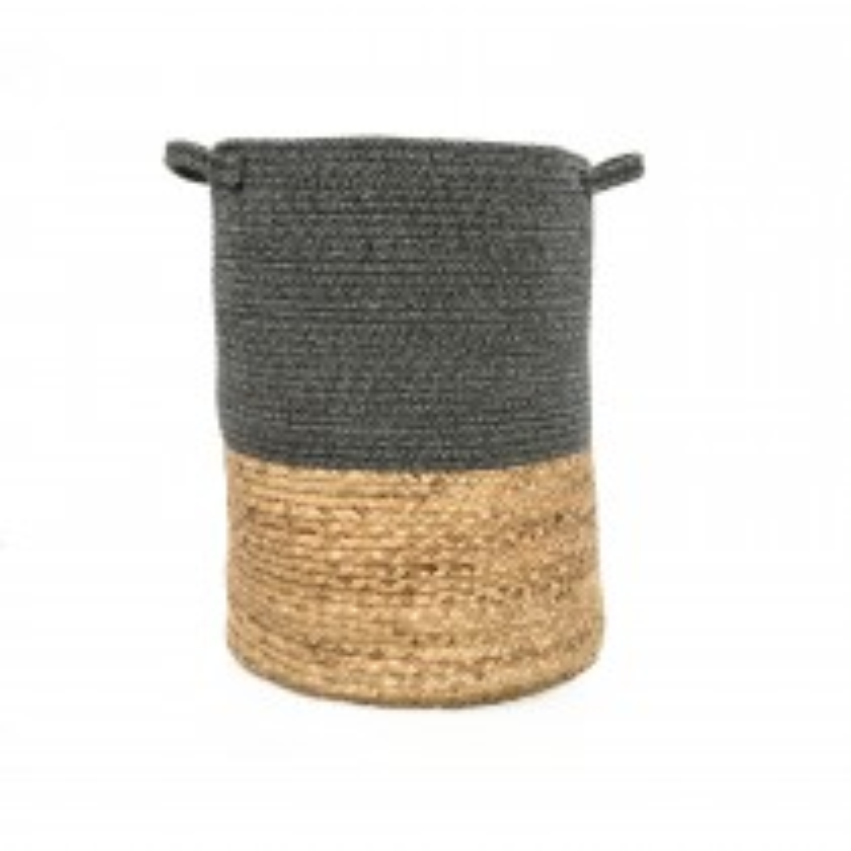 Casa Cotton & Grass Basket, Large, Grey