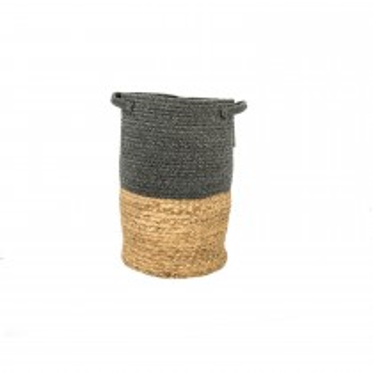 Casa Cotton & Grass Basket Small, Grey