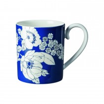 Denby Monsoon Fleur Small Mug, Blue
