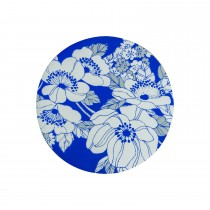 Denby Monsoon Fleur  4 Coasters, Blue