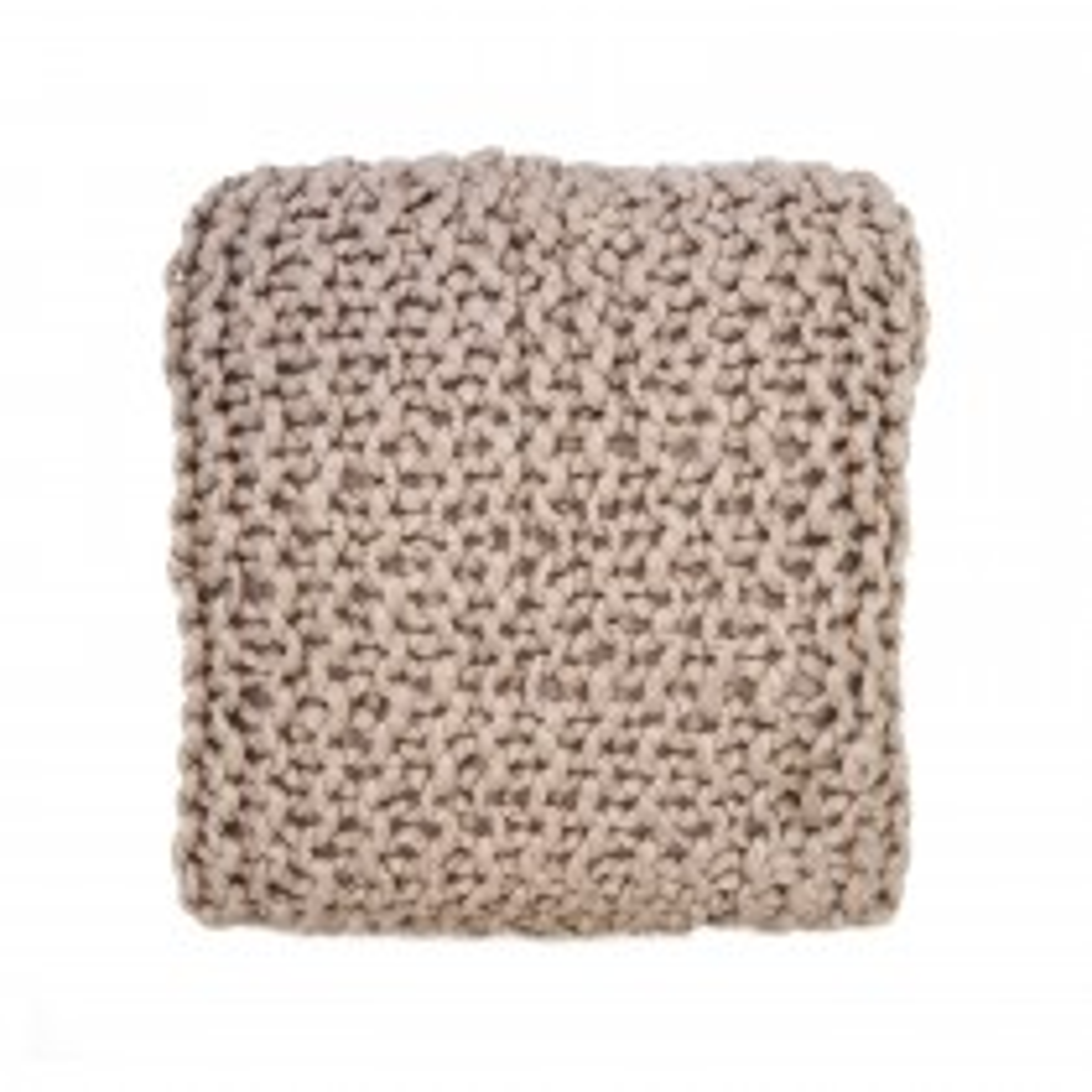 Casa Basket Weave Knit Cushion, Pink