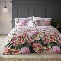 Ted Baker Painted Posie Duvet Cover Double, Pink Multi Floral