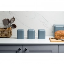 Haden Perth Set of 3 Canisters, Slate Grey