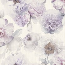 Arthouse Diamond Bloom Floral Wallpaper, Lavender