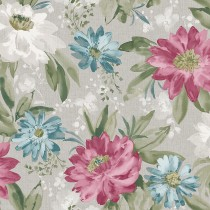 Arthouse Painted Dahlia Wallpaper, Raspberry