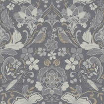 Arthouse Linen Texture Wallpaper, Grey