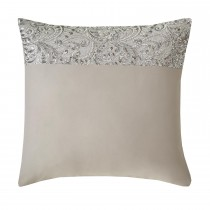 Kylie Minogue Cadence Square Pillowcase, Silver