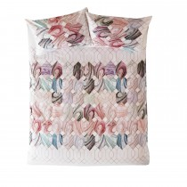 Ted Baker Sea Of Clouds Quilt Cover Double, Pastel