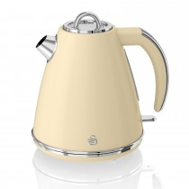 Swan 1.5 Litre Jug Kettle 3kw, Cream
