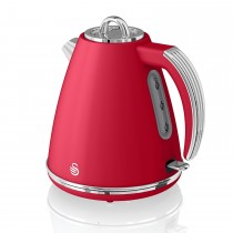 Swan 1.5 Litre Jug Kettle 3kw, Red