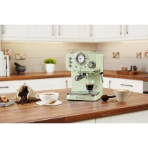 Swan Pump Espresso Coffee Machine, Green