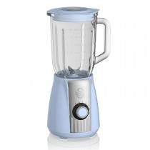 Swan Retro Stand Blender, Blue