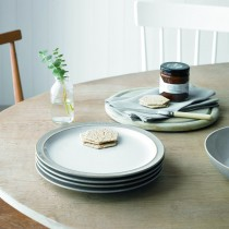 Denby Elements Plate Small, Light Grey
