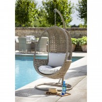 Hartman Heritage Hanging Chair, Dove/ Beech
