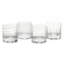 Mikasa Cheers Glass Tumblers, Clear