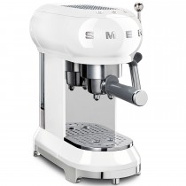 Smeg ECF01WHUK Espresso Coffee Machine, White