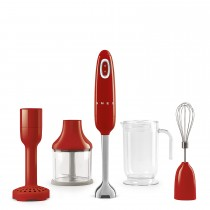 Smeg HBF02RDUK Hand Blender, Red