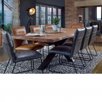 Casa Brixton Dining Table & 6 Chairs