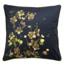 Ted Baker Arboretum Feather Filled Cushion, 45cm x 45cm, Charcoal