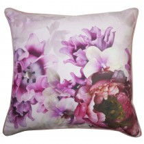 Ted Baker Splendour Feather Filled Cushion, 45cm x 45cm, Charcoal