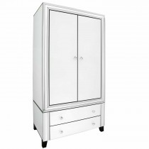 Casa Blanco 2 Door 2 Drawer Robe, White