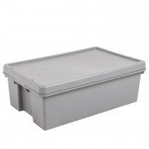 What More 36l Storage Box And Lid Grey