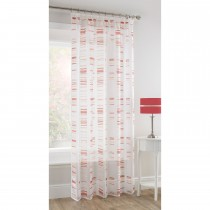 Pavilion Madison Voile 150x135cm, Red