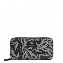 Radley Dash Leaf Large Matinee Purse, Ink