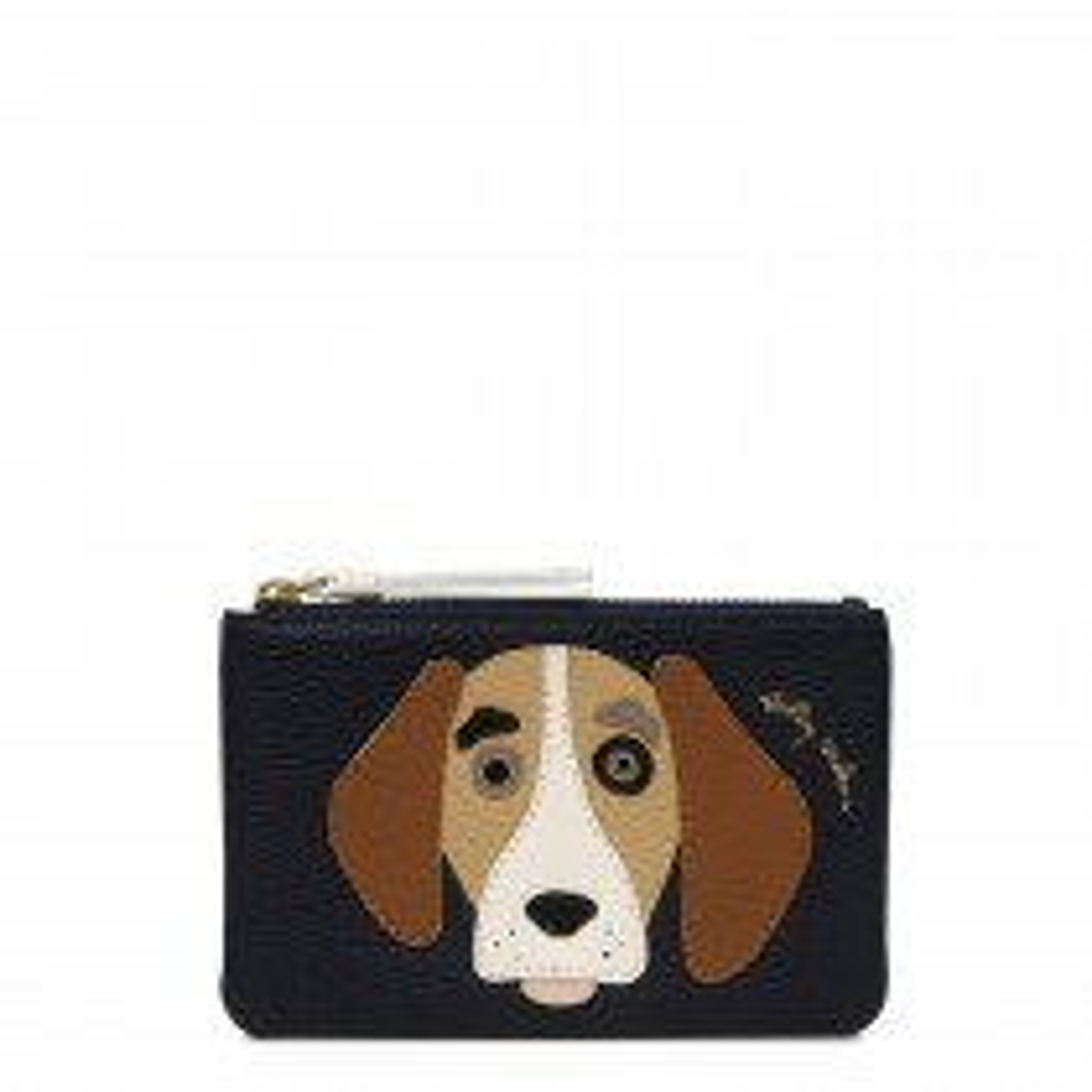Radley, Radley & Friends Beagle Small Coin Purse, Ink